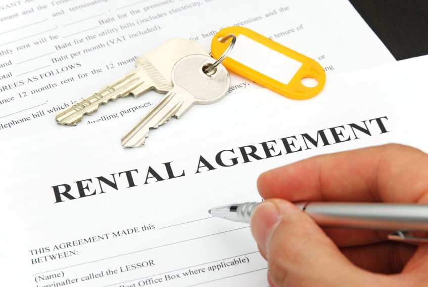 Rental Agreement Form - Subletting Apartments for Rent